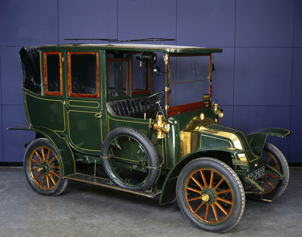 Renault taxi type AG, 1910.