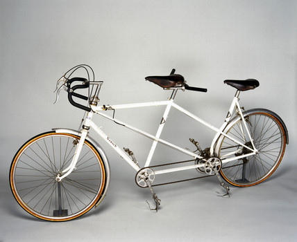 Tandem bicycle, 1948.