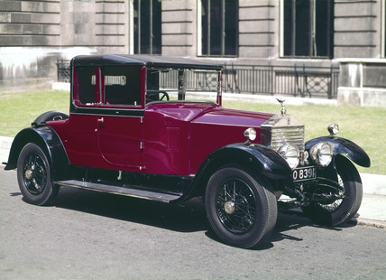 Rolls-Royce Twenty motor car, 1928.