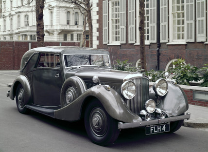Bentley 4.25 litre Drophead Coupe motor car, 1939.