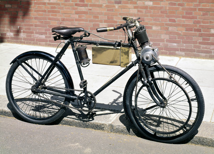 Werner motor bicycle, 1899.