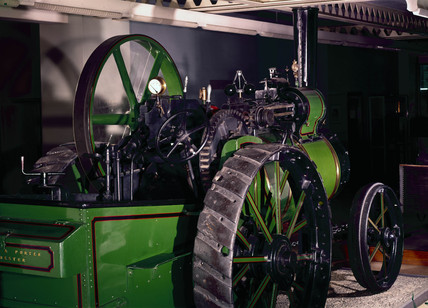 Aveling and Porter steam traction engine, 1873.