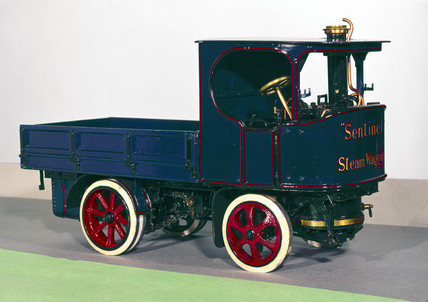 Sentinel steam wagon, 1923.