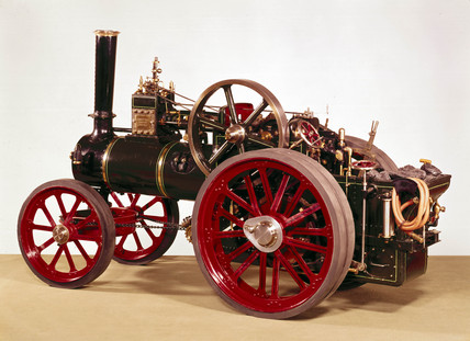 Ruston and Hornsby traction engine, 1920.