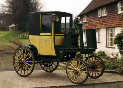 Bersey electric cab, 1897.