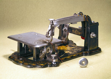 The first Wheeler and Wilson sewing machine, 1866.