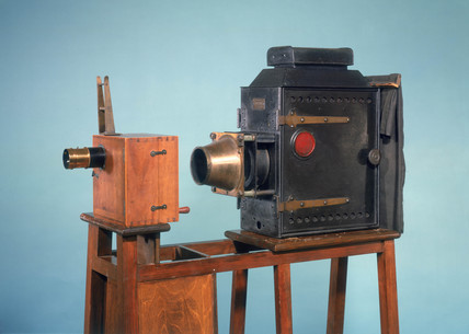 Lumiere Cinematographe camera-projector, French, 1896.