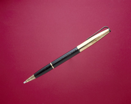 Early ball-point pen, c 1945.