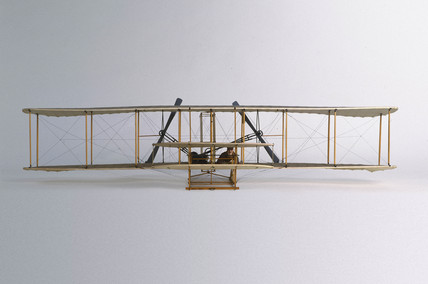 The first Wright aeroplane, 1903.