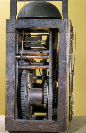Harrison's eight-day clock movement, 1715.