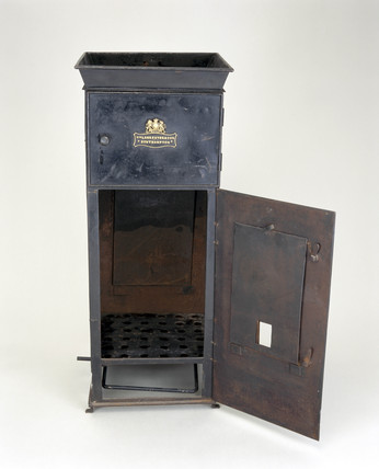 Gas cooker, c 1850.