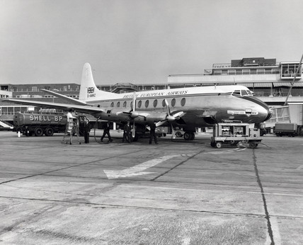 Vickers Viscount, c 1950s.