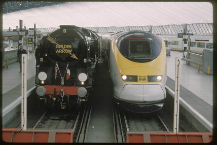 Eurostar and Golden Arrow, 1999.