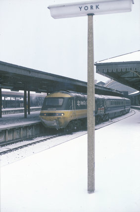 Inter-City train, 1987.