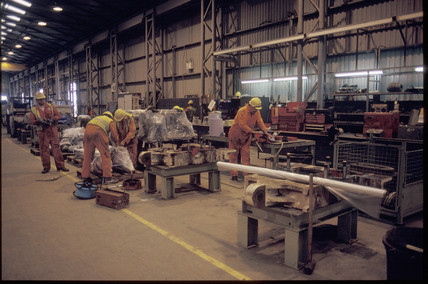 Warehouse at Shakespeare Cliff, 1991.