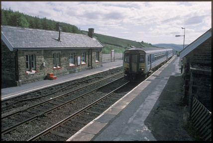 Garsdale Station, North Yorkshire, 1994.