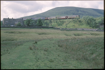 Train at Blea Moor, 1994.