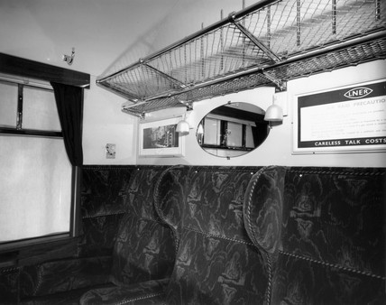 First class coach with cross corridors, 8th January 1945.
