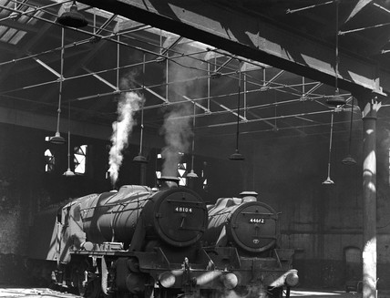 Holbeck engine shed, 1953.