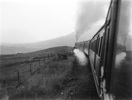 Train at Crianlarich, 1937.