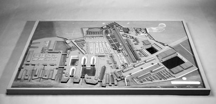 Model of Portsmouth Dockyard, 1774.