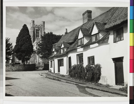 Country cottages, Newport, Essex, 1958.