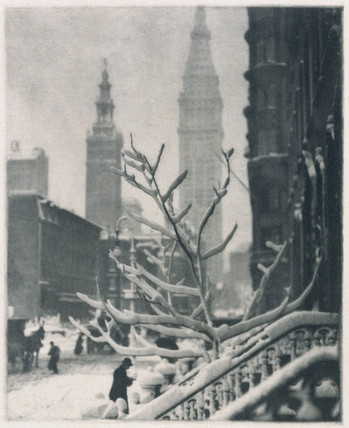 'Two Towers', c 1911.