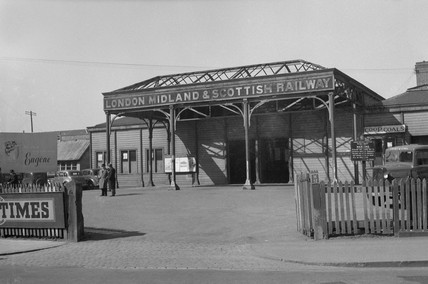 Oxford (Rowley Road) station, Oxford, 25 March 1949.