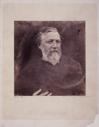 Robert Browning, English poet, 1865.