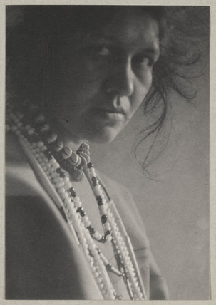 'Woman with Necklaces', c 1900.