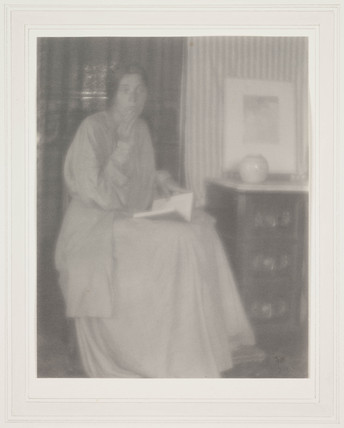 'Portrait (Lady seated)', 1906.