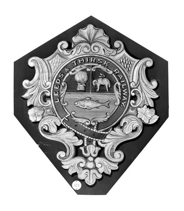 Crest of the Leeds and Thrisk Railway.