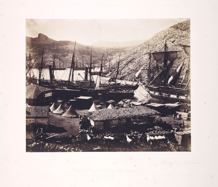 'Cossack Bay, Balaklava', 1855.
