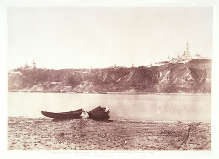 'The Great Lavra Monastery from the North Side of the Dnieper, Kief', 1852.