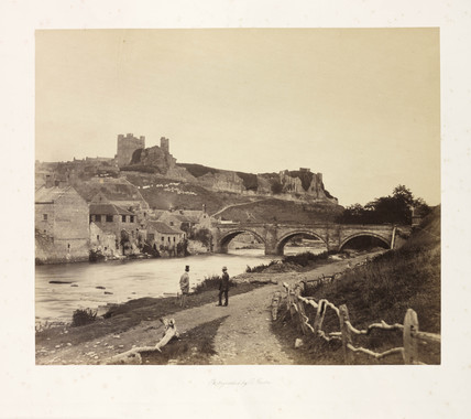 Richmond Castle, c 1854.