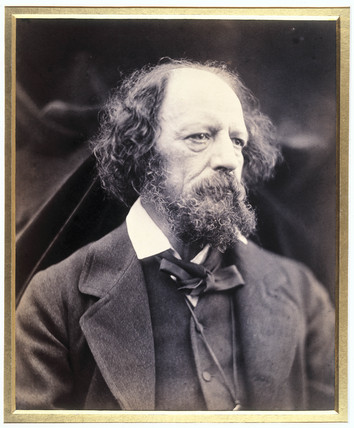 Lord Tennyson, English poet, c 1870s.