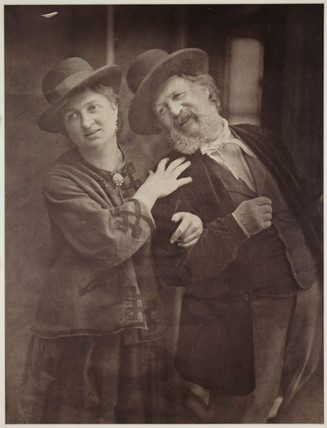 'Happy Days' (Rejlander and his wife), c 1872.