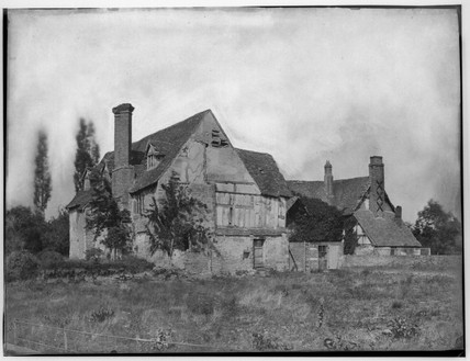 Crowle Court, Worcestershire, c 1862.