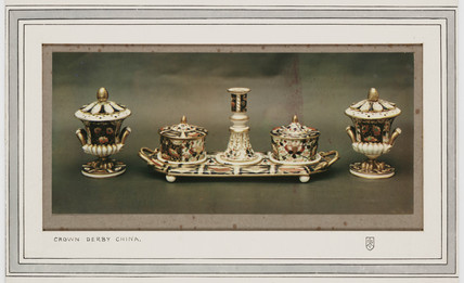 'Crown Derby China', c 1925.