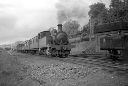 Nasmyth Wilson & Co loco for the County Donegal Railway, c 1930s.