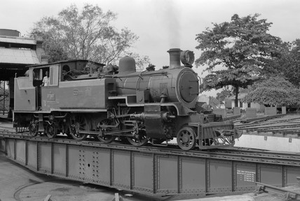 Nasmyth Wilson & Co locomotive of 1938.