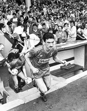 Ian Rush, British footballer, April 1987.