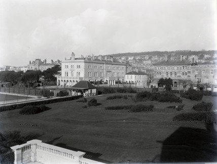 Royal Hotel in Weston-super-Mare,  1st Febuary 1928.