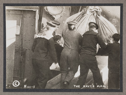 'The Navy's Mail', c 1916.
