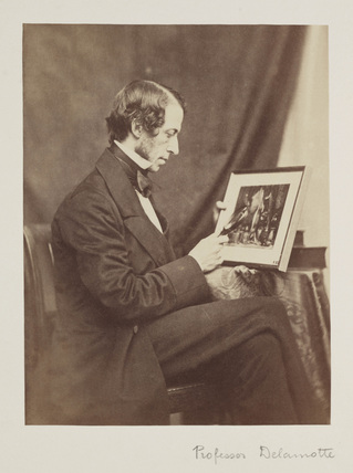 Portrait of Philip Henry Delamotte, 1856.