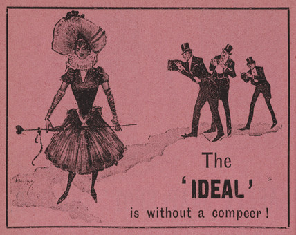 The 'Ideal' Camera advert, 1892.