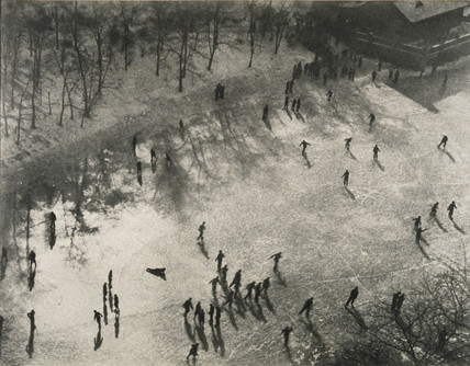 The ice skaters, c. 1938.