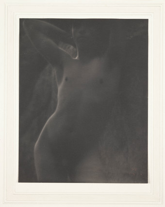 'Nude in Shadow', 1910.