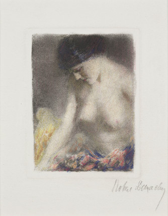 Untiltled nude, c 1906.