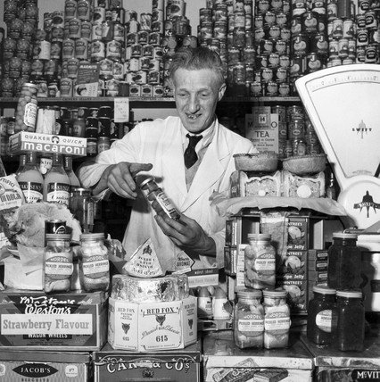 Grocer, 1957.